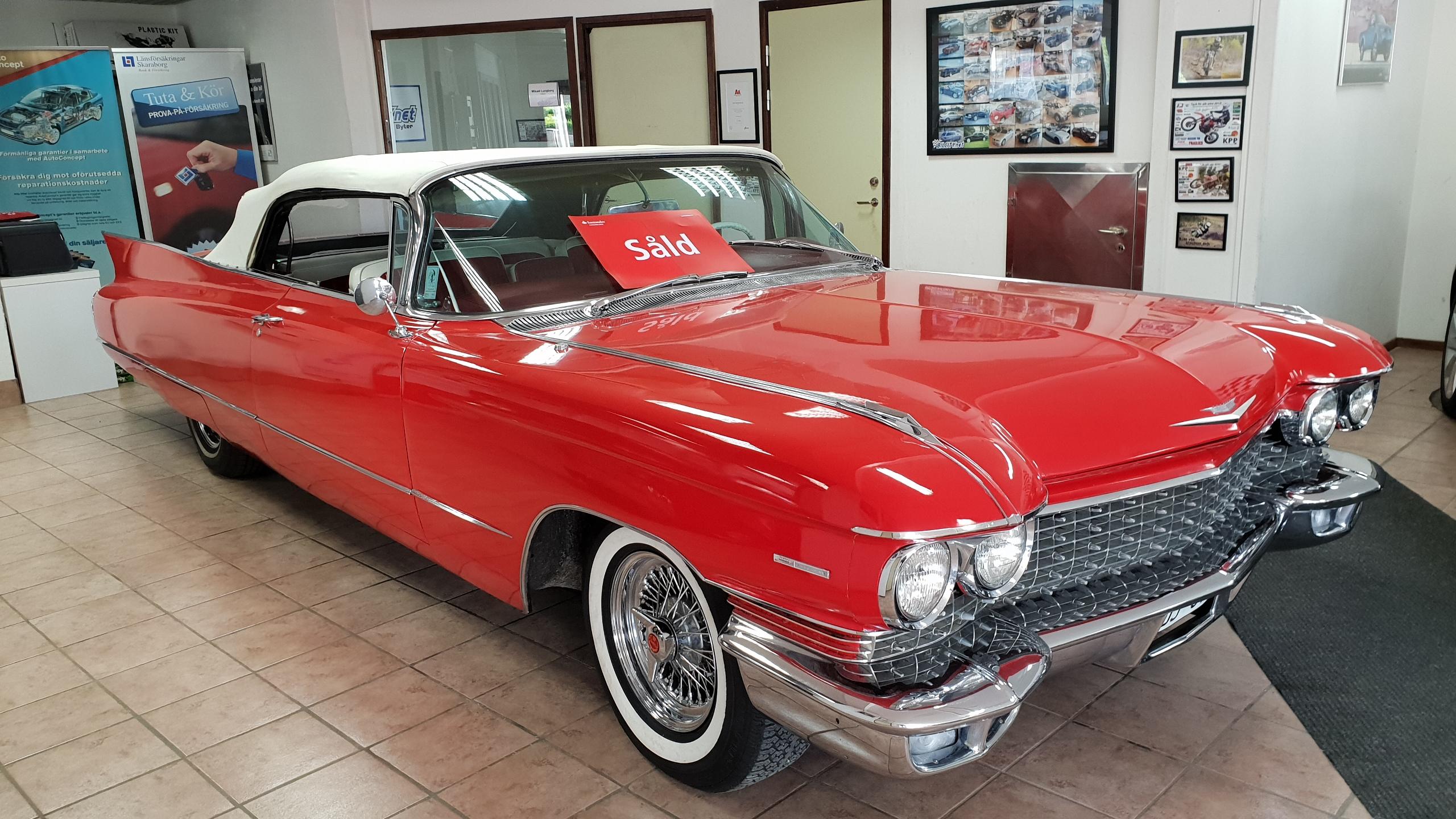 Cadillac serie 62 cab 1960