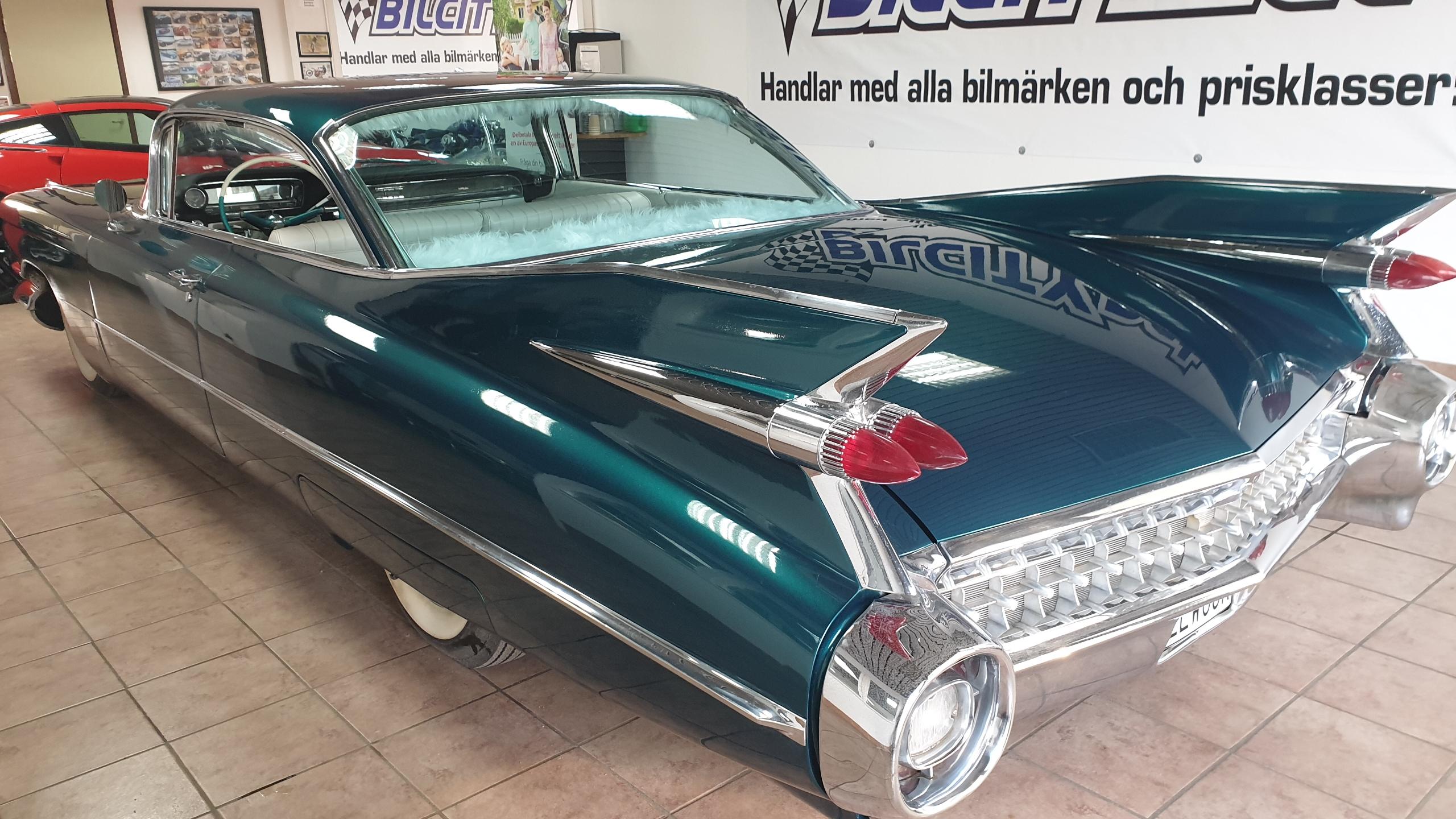 Cadillac coupé serie 62 1959