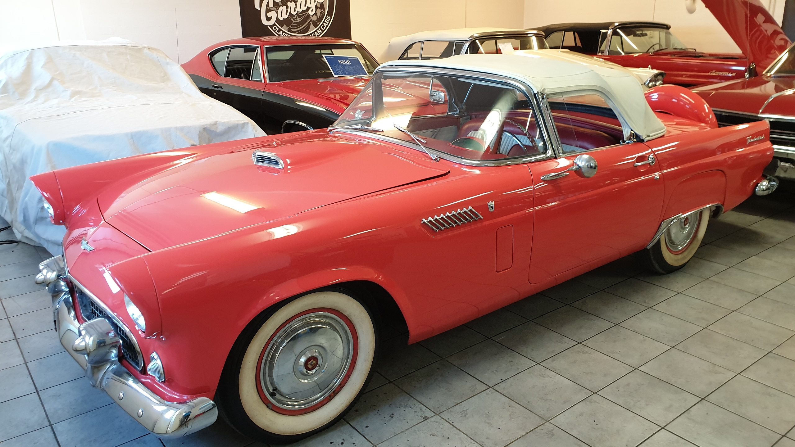 Ford thunderbird cab 1956